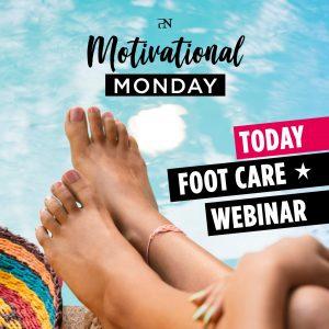 """ProNails Online Webinar """"Cosmetische Footcare"""" Workshop"""