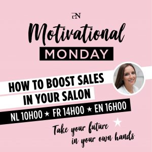 """ProNails Online webinar """"How to boost sales in your salon"""""""