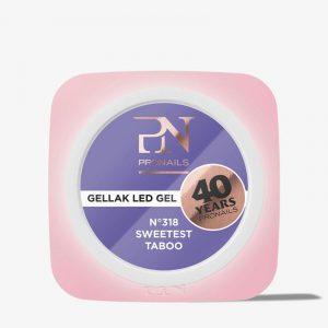 *SUMMER 2021* Pronails Gellak 318 Sweetest Taboo 10ml