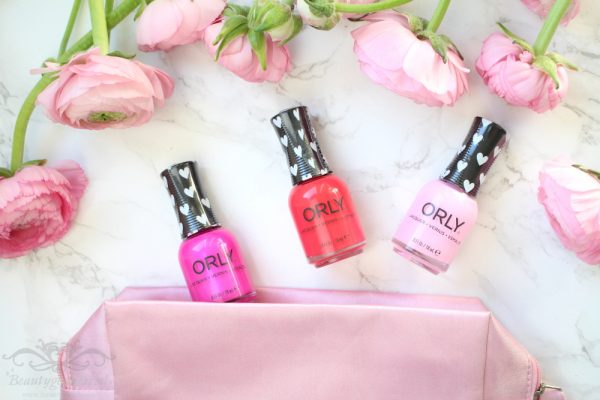 """Orly Nailpolsih """"from the heart"""" collectie – 3pcs"""